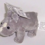 Rückruf: Plüschtier Nashorn von kik