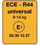 Prüfnorm für Kindersitze ECE-R44