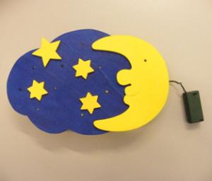 Kinderleuchte mit LED und Batterie; Positivbeispiel