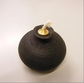 Öllampen ohne Dochtschutz, Bajonettverschluss und Dichtung (DIN EN 14059 4.5, 4.6, 4.7); Gefahr einer chemischen Lungenentzündung durch das Lampenöl