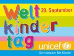Logo für den Weltkindertag am 20. September