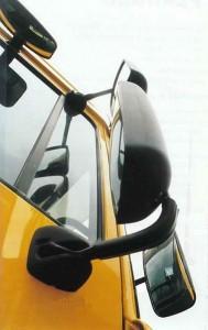 Bild: Mirror for trucks - GFDL - Michiel1972 - wikipedia