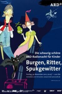 """Zeitreise ins Mittelalter: """"Burgen, Ritter, Spukgewitter"""" bei der 6. ARD Radionacht für Kinder"""