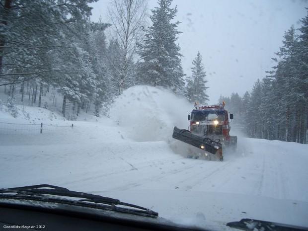 Fahren bei Eis und Schnee