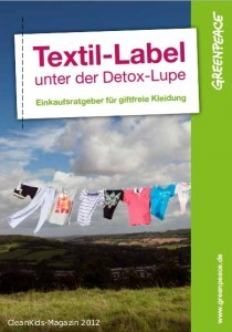 Greenpeace-Ratgeber hilft beim Einkauf giftfreier Mode