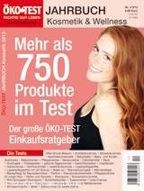 ÖKO-TEST Jahrbuch Kosmetik & Wellness