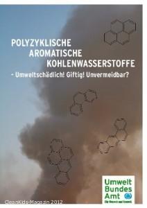 """Das neue Hintergrundpapier """"Polyzyklische Aromatische Kohlenwasserstoffe – Umweltschädlich! Giftig! Unvermeidbar?"""": www.umweltbundesamt.de/uba-info-medien/4372.html"""