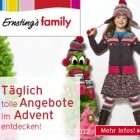 24 Tage voller Überraschungen - Der Ernsting's family Adventskalender