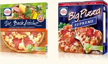 Rückruf: Wagner ruft Tiefkühl Pizza zurück