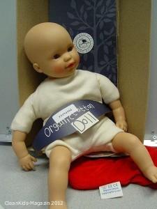 Verkaufsverbot: Verbotene Weichmacher in Organic Cotton Puppe von Keptin JR