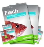 Greenpeace Einkaufsratgeber für Speisefische: Welcher Fisch darf auf den Teller?