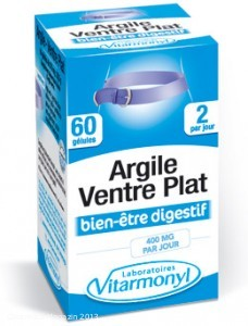 """Blei in Nahrungsergänzungsmittel """"Argile – ventre plat"""" von VITARMONYL"""