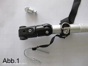 Wenn Ihr Croozer Fahrradset so aussieht, ist es vom Deichselaustausch betroffen - Bild: Zwei plus zwei GmbH