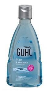 Die ÖKO-TEST-Analyse zeigt, dass das Guhl Pur & Belebend Shampoo bedenkliche UVFilter enthält - Bild: ÖKO-TEST