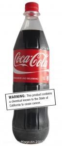 Coca-Cola überschreitet den 4-MEI-Grenzwert der kalifornischen Gesundheitsbehörde um das Sechsfache, wie die Laboranalyse von ÖKO-TEST zeigt. Bild: ÖKO-TEST