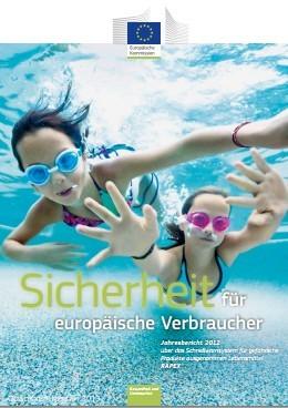 Im Jahr 2012 übermittelte die Europäische Kommission durch das RAPEX-System 2278 Meldungen über Konsumgüter, die ein Gesundheits- und Sicherheitsrisiko darstellen