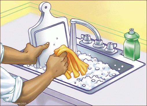 Besonderes Augenmerk auf Küchenhygiene legen