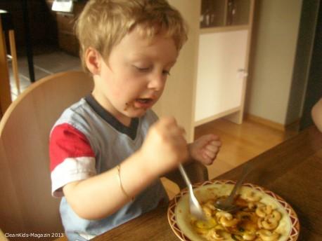 Kinder sollten Essen stehen lassen dürfen