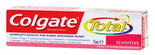 In der Laboranalyse zeigte sich, dass in der Zahncreme Colgate Triclosan enthalten ist.  Foto: ÖKO-TEST