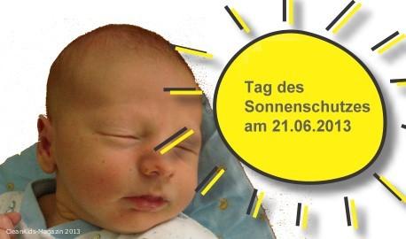 Babyhaut besonders vor Sonne schützen