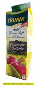 """Der Trimm Apfel-Birnen-Saft Heimische Früchte wird aus """"in Deutschland wohlbekannten Früchten"""" hergestellt wird. Woher sie tatsächlich stammen, verrät der Discounter Norma trotz Nachfragen nicht.   Foto: ÖKO-TEST"""