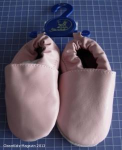 Schon wieder: Chrom VI in Babyschuhen (Lederpuschen) von Sterntaler