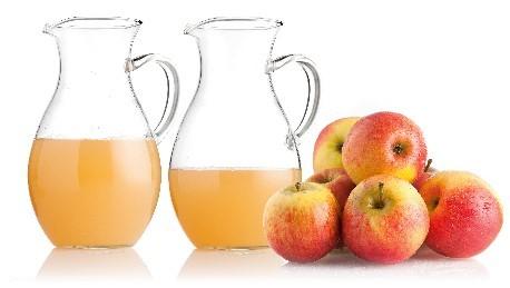 770 ml Saft (Green Star) statt 514 ml (Tefal) aus einem Kilo Äpfel - Bild: Stiftung Warentest