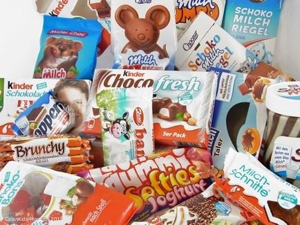 Süßigkeiten für Kinder mit Milchwerbung / © Verbraucherzentrale Hessen