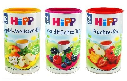 Nach Verbraucherkritik hatte Hipp seine Zuckergranulat-Tees für Kleinkinder 2012 vom Markt genommen – unter anderem Namen verkauft das Unternehmen solche Produkte bis heute weiter
