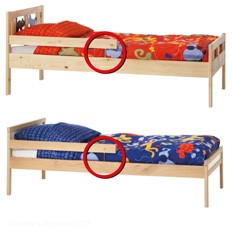 Verletzungsgefahr bei Ikea Kinderbetten KRITTER und SNIGLAR - Bild: IKEA