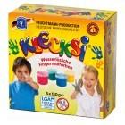 """Unverantwortlich: Die laut Hersteller """"gesundheitlich unbedenklichen"""" Klecksi-Fingerfarben enthalten einen verbotenen Farbbestandteil.  Foto: ÖKO-TEST"""
