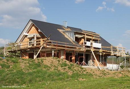 Hausbau auf dem Land - Bild: © aboutpixel.de / Steve_ohne_S