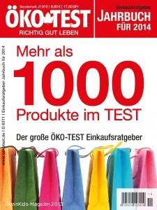 ÖKO-TEST Jahrbuch für 2014 - mehr als 1000 Produkte im Test