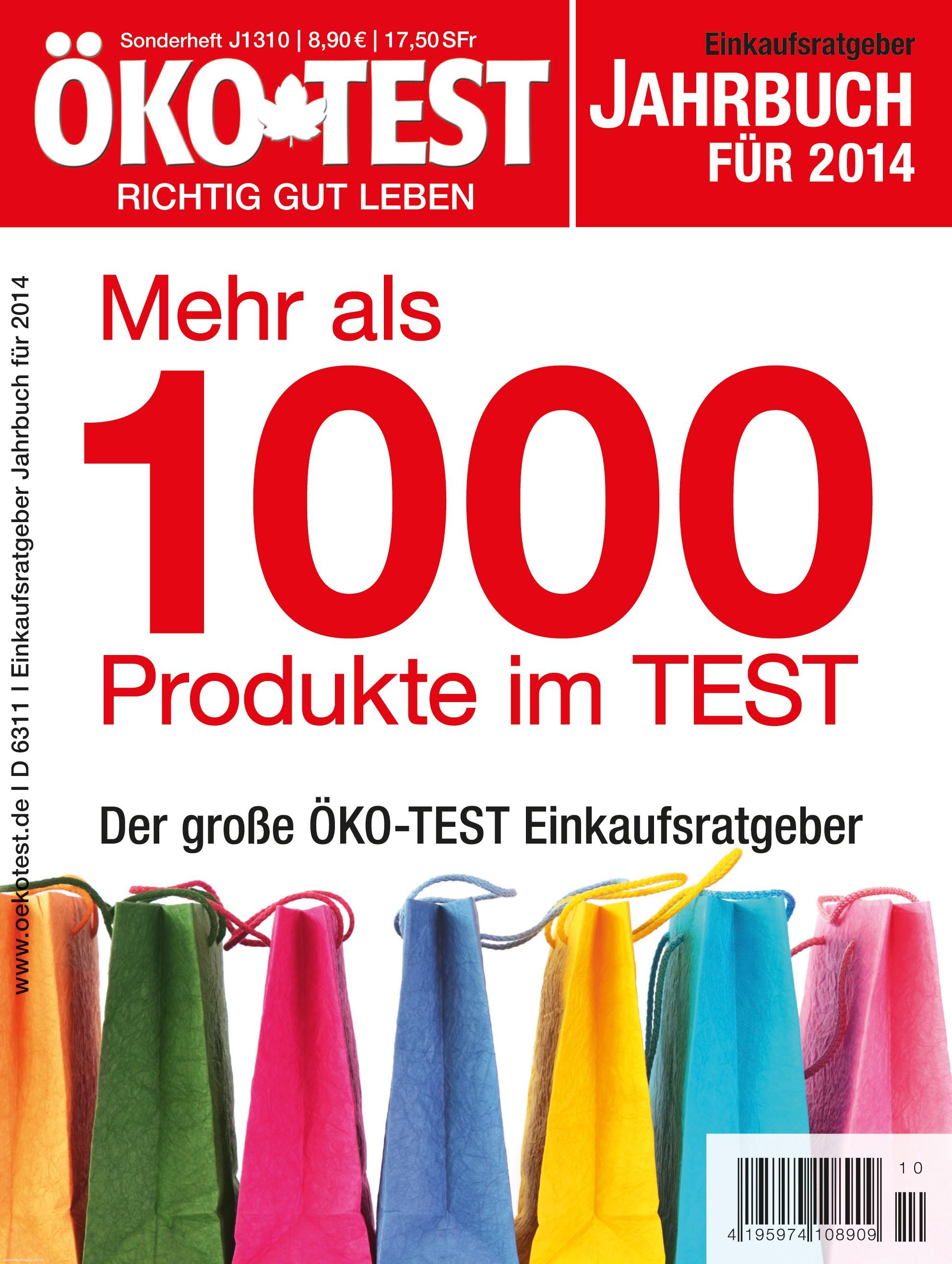ko test jahrbuch f r 2014 mehr als 1000 produkte im test cleankids magazin. Black Bedroom Furniture Sets. Home Design Ideas