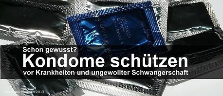 Kondome schützen - auch vor der Pille danach
