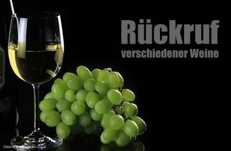Berstgefahr - mehr als 70 verschiedene deutsche Weine betroffen