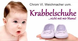 Immer wieder - Schadstoffe und Gifte in Babyschuhen