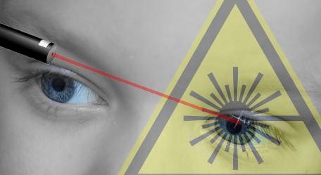 Laserpointer sind kein Spielzeug