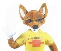Sicherheitshinweis für Fuchs-Artikel wegen ablösbarer Kleinteile
