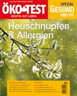 ÖKO-TEST Spezial - Heuschnupfen & Allergien  -  Bild: ÖKO-TEST