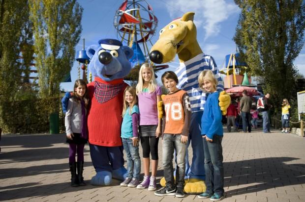 Maskottchen im Ravensburger Spieleland - (Quelle Ravensburger Spieleland)