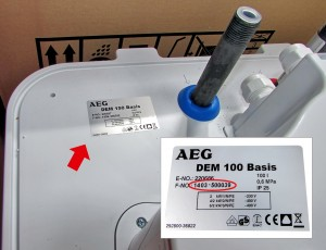 RüŸckruf fŸür AEG Warmwasser Wandspeicher Bildrechte: AEG Haustechnik - Fotograf:Bild: EHT Haustechnik GmbH