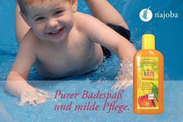 Logona Schaumbad - Purer Badespaß und milde Pflege