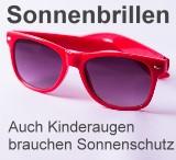 Sonnenbrillen: Auch Kinderaugen brauchen Sonnenschutz