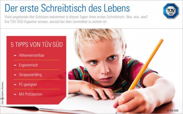 Schreibtische für Kinder: mitwachsend und strapazierfähig