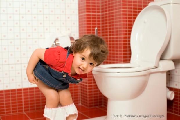 Töpfchentraining – Wie Kinder in 5 Schritten trocken werden - Bild: © Thinkstock Images/Stockbyte