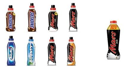 Rückruf: Mars, Bounty, Snickers und Milky Way Milchgetränke