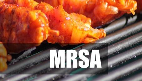 Antibiotikaresistente Keime (MRSA) im Grillfleisch