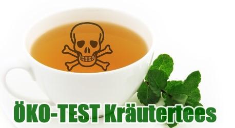 ÖKO-TEST Kräutertees - Durstlöscher mit Spritzgiftgeschmack
