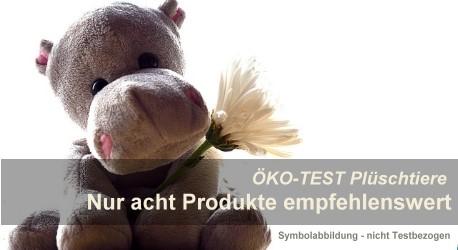 ÖKO-TEST Plüschtiere: Armutszeugnis für die Hersteller